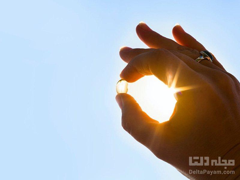فقر ویتامینD نور خورشید