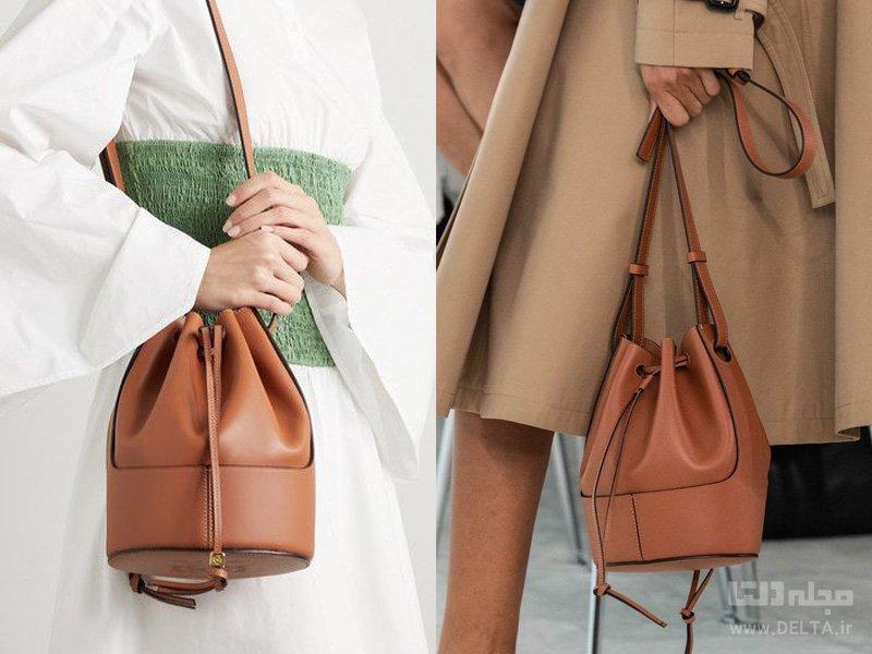 کیف های زنانه باکت Bucket Bag
