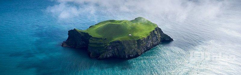 جزیره الیدای در ایسلند