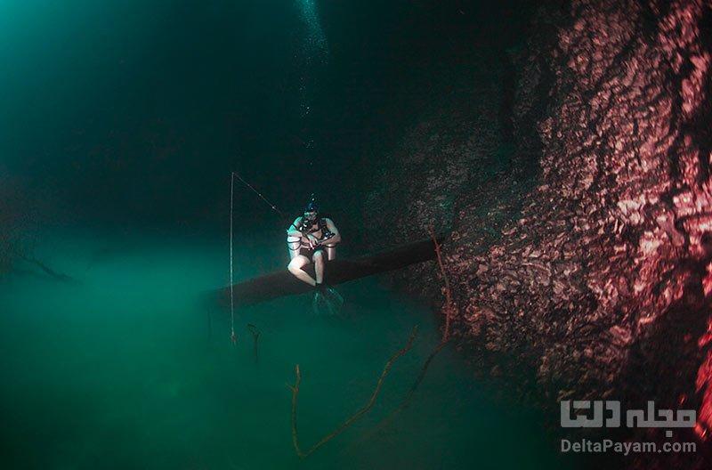 غواصی در غار سنوته آنجلیتا