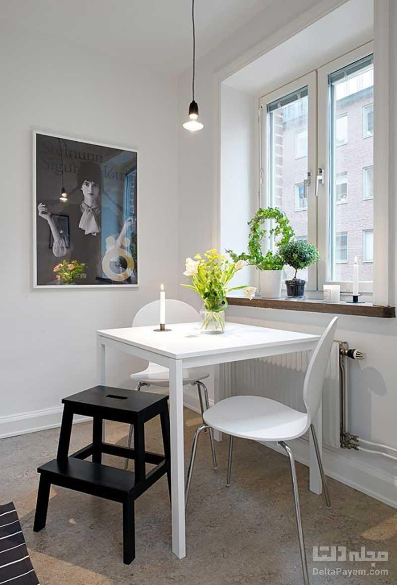 میز غذاخوری مناسب آشپزخانه کوچک