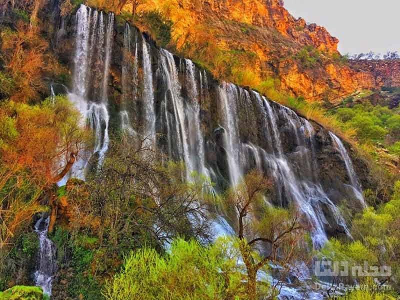 آبشار شوی در خوزستان