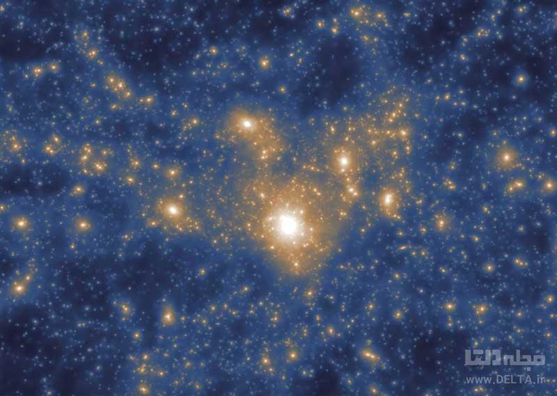 کهکشان های بزرگ برای تکامل از کهکشان های کوچک تر تغذیه می کنند