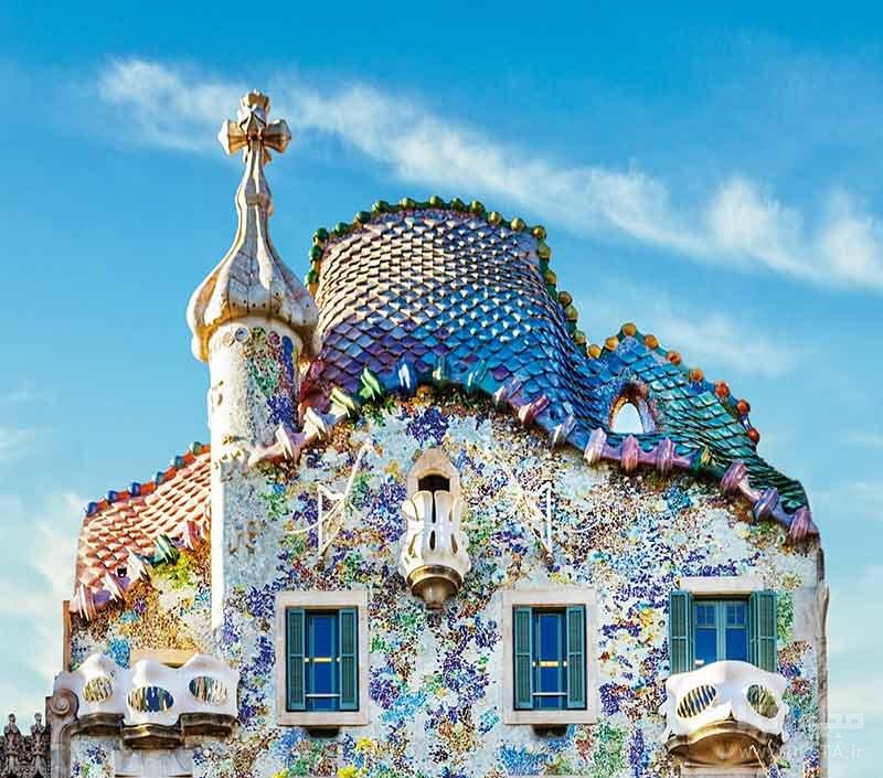 خانه استخوانی بارسلونا با طراحی منحصر به فرد