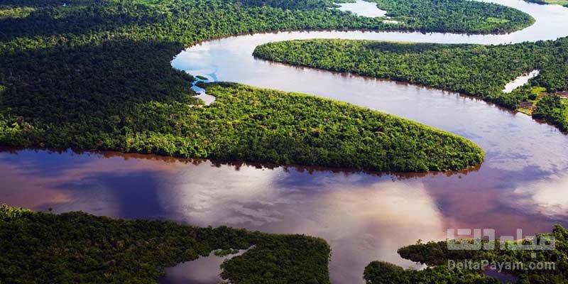 تاریخچه نام رودخانه آمازون