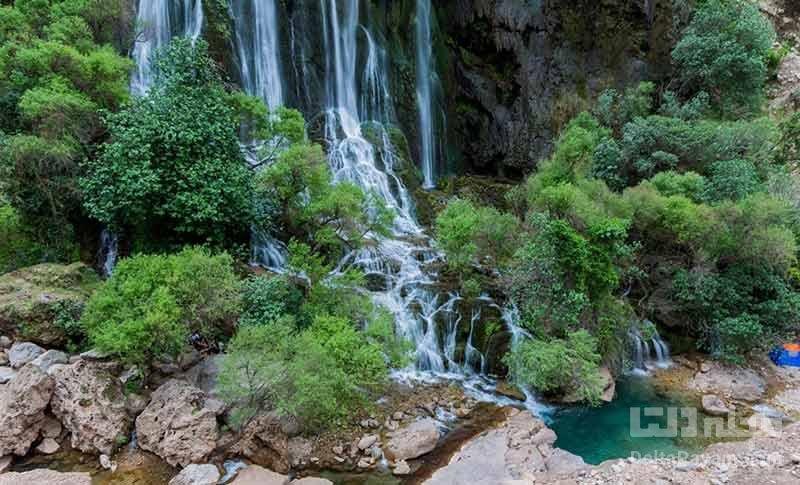 آبشار شوی بزرگترین آبشار خاورمیانه