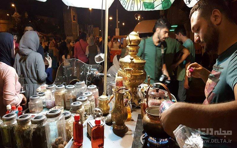 پیشینه خیابان سی تیر تهران