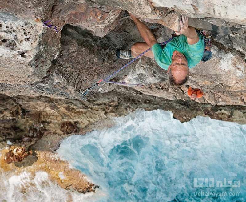 صخره نوردی در جزیره برمودا