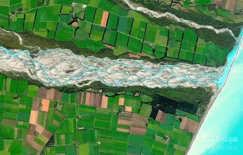 رودخانه راکاییا از رودخانه های بافته