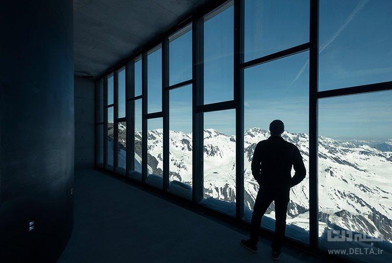 موزه جیمز باند روی قله کوه گایسلچکوگل