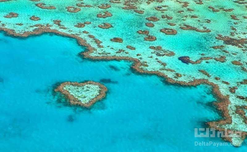 مکان های قلبی شکل در استرالیا