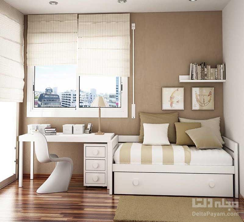 دکوراسیون اتاقخواب کوچک