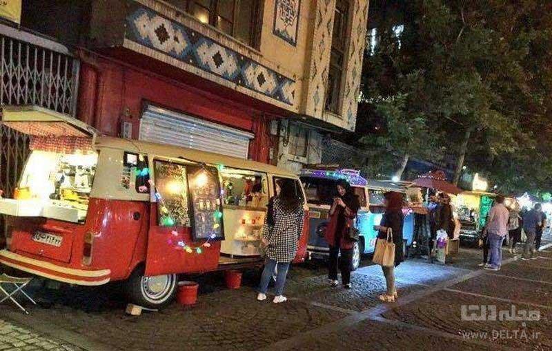 کافه و رستورانهای خیابانی
