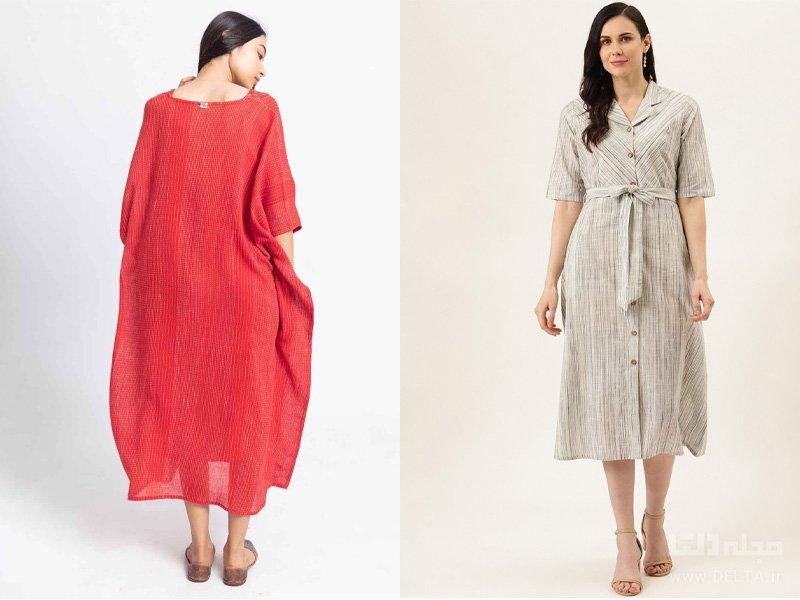 لباس های نخ پنبه آلرژی
