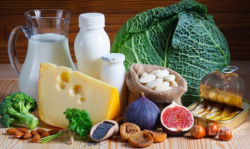 نقش کلسیم در بدن مواد غذایی