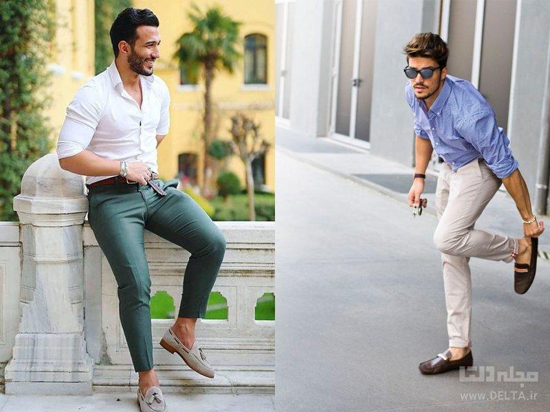 کفشی برای شلوار کتان مردانه کالج