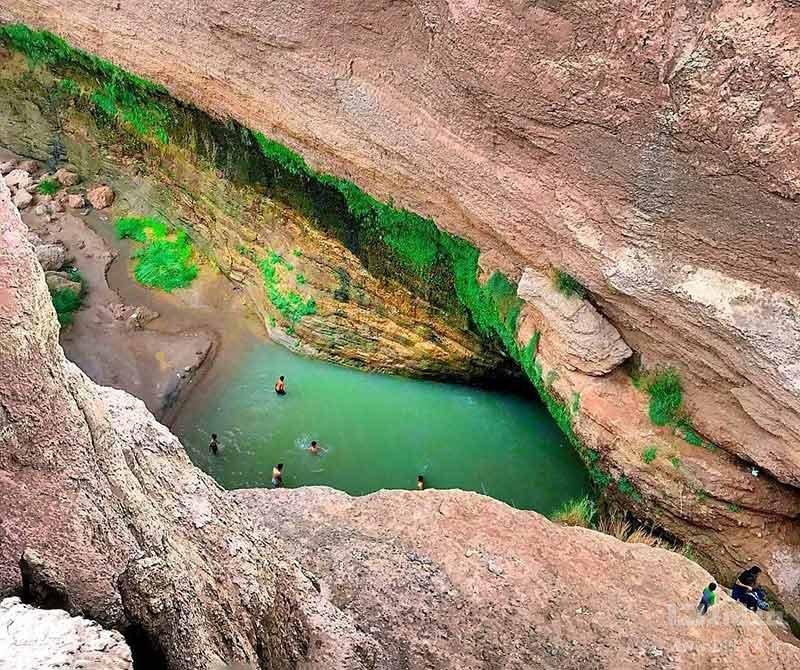 آبشار کشیت کرمان و دره کشیت