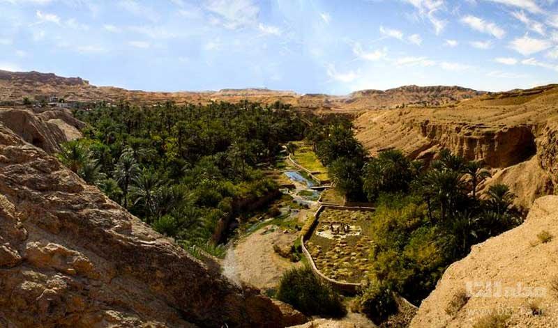 دره و آبشار کشیت کرمان