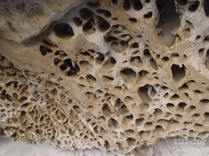 غار ایوب کرمان چگونه به وجود آمد؟