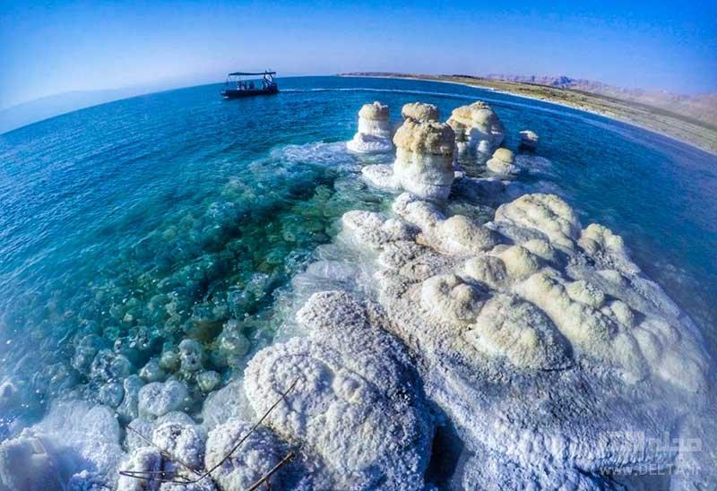 دریاچه مرده اردن یا بحر المیت