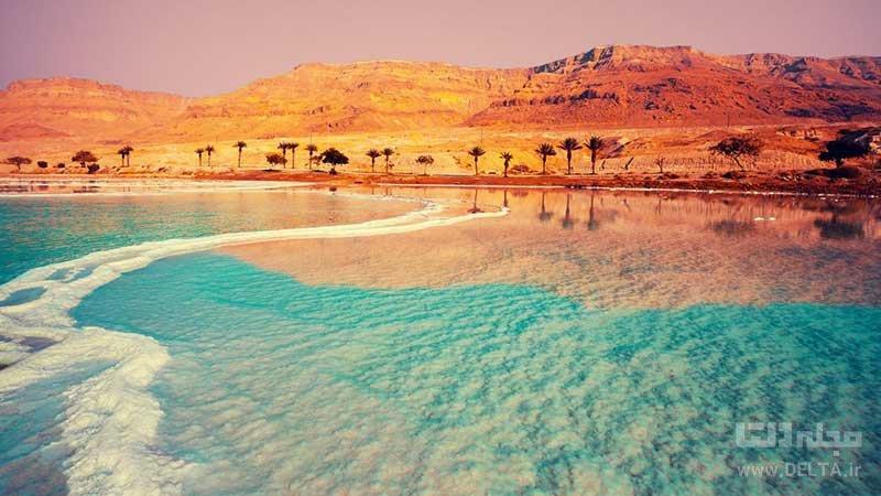 دریاچه مرده اردن ، شورترین دریاچه کره زمین