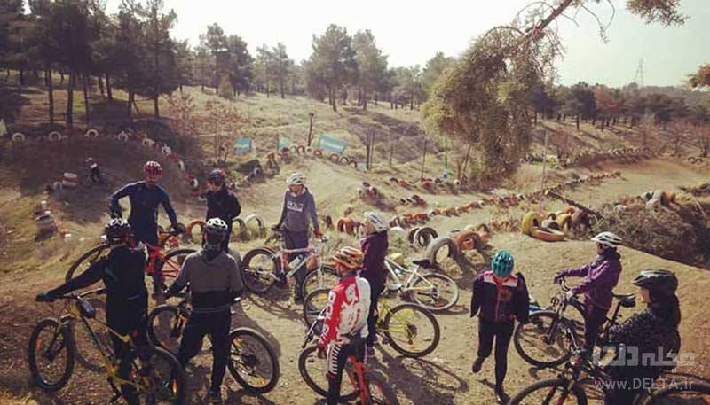 باشگاه جامین از پیست های دوچرخه سواری تهران