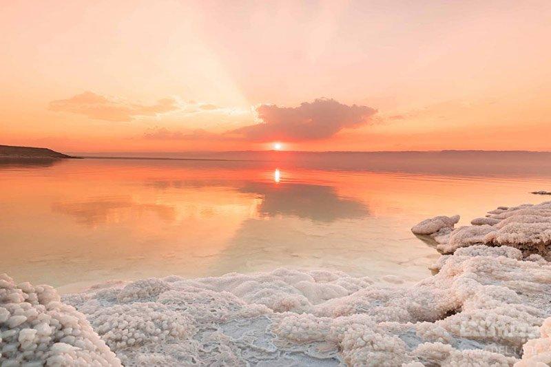 درباره دریاچه مرده اردن