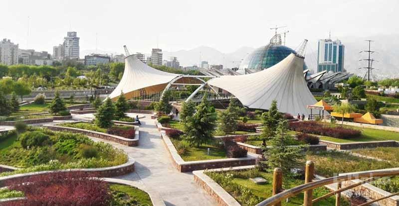 تهرانگردی در روزهای بهاری ؛ بازدید از پارک ها