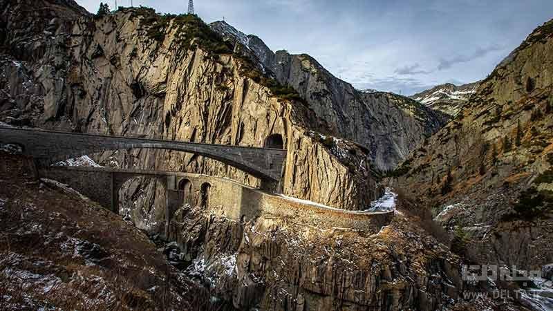درباره پل شیطان سوئیس