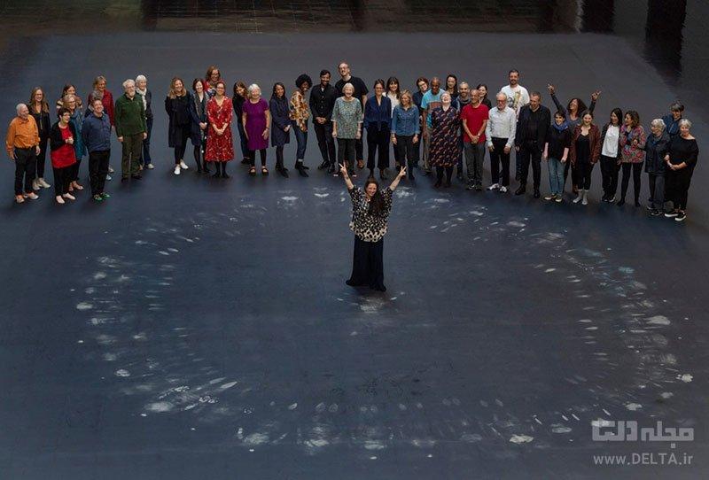 نمایشگاه هنری تیت مدرن در انگلستان