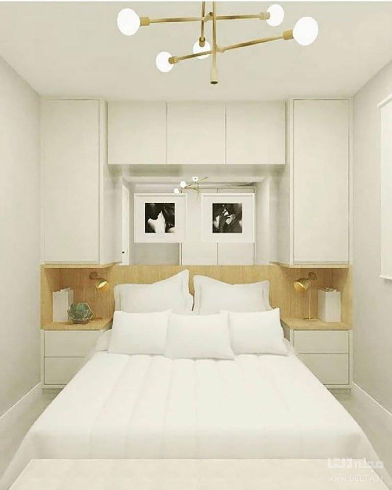 اتاق خواب مستطیلی