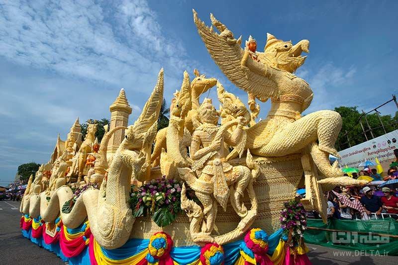 فستیوال شمع یوبون راتچاتانی از فستیوال های تایلند