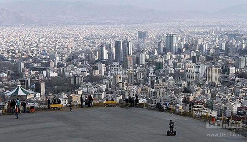 بام های تهران