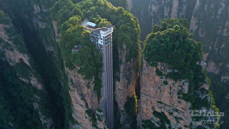 آسانسور صد اژدها کجاست