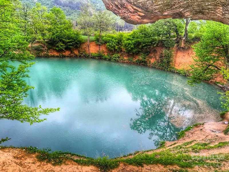 عمیق ترین چشمه آب سرد جهان