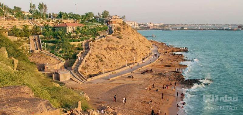 روستای تیس در سواحل مکران
