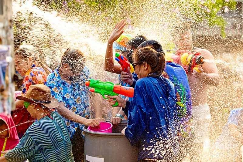 سونگکران از فستیوال های تایلند