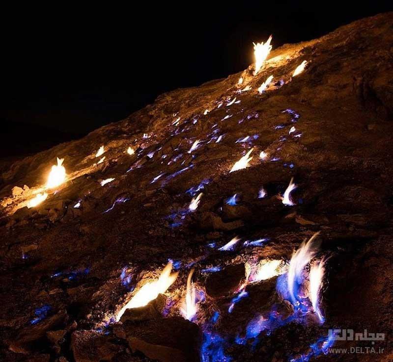 کوه آتشین رامهرمز یا تشکوه