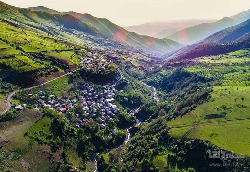 روستای ناتر در چالوس
