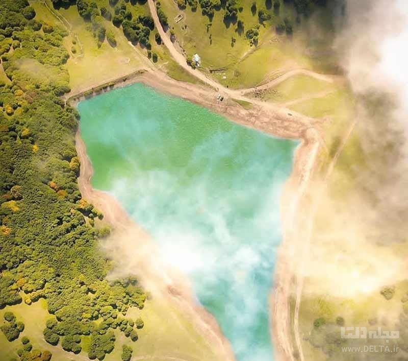 دریاچه سوها در شهرستان نمین اردبیل