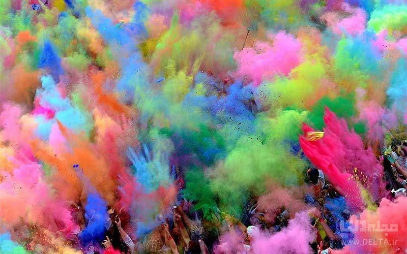 جشن رنگ هند