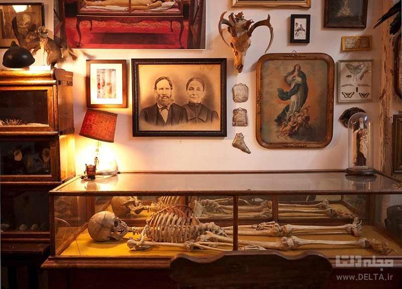 آثار موجود در موزه مرگ لس آنجلس