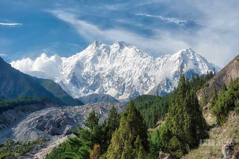 کوه نانگا پاربات در پاکستان
