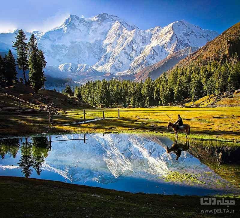 قله و کوه نانگا پاربات