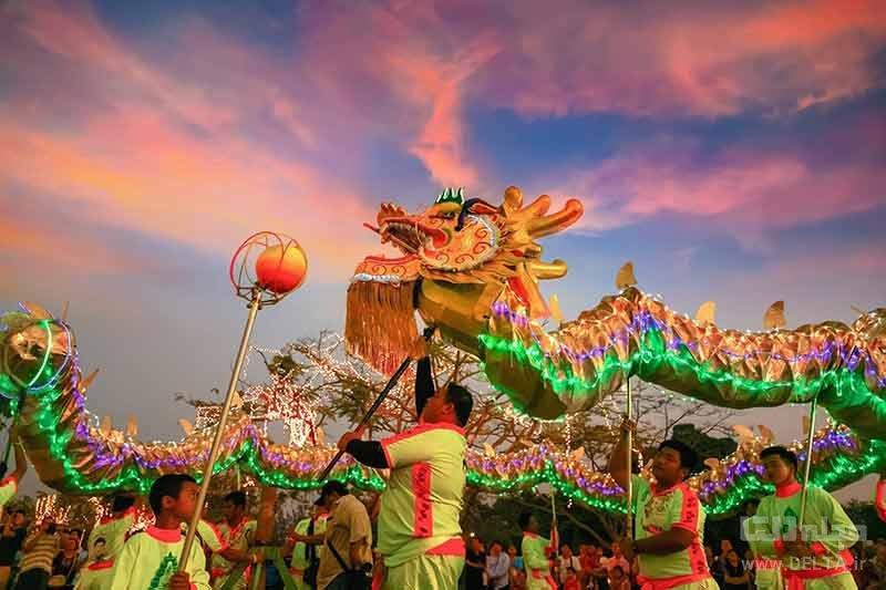 سال نو چینیها از فستیوال های تایلند
