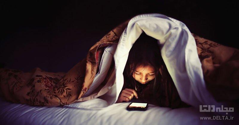دیر خوابیدن