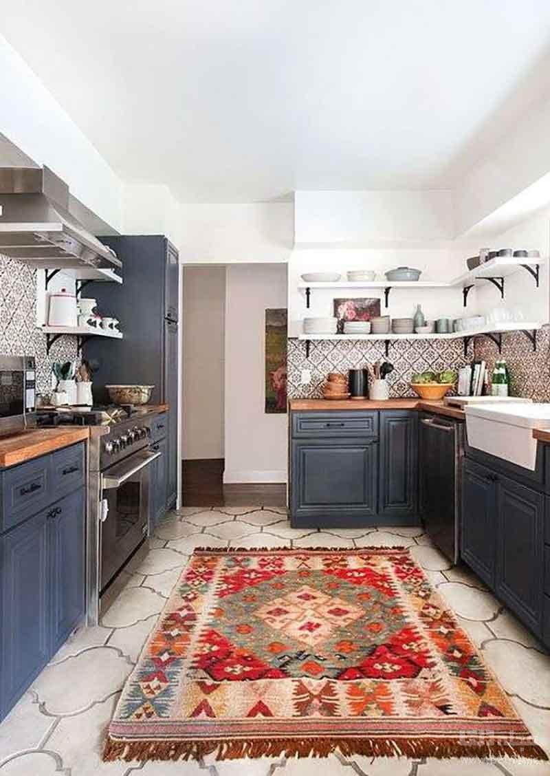 فرش مناسب برای آشپزخانه