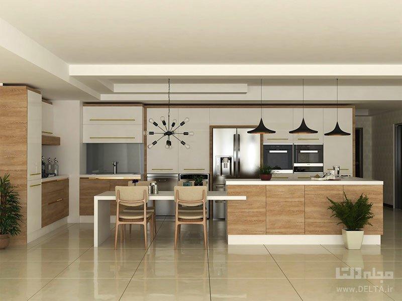 آشپزخانه خانه 60 متری