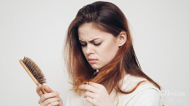 ریزش مو علائم طولانی مدت کرونا