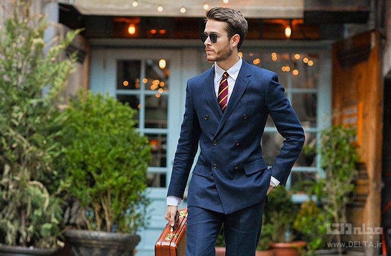 کت و شلوار پوشش مردان موفق با برنامه